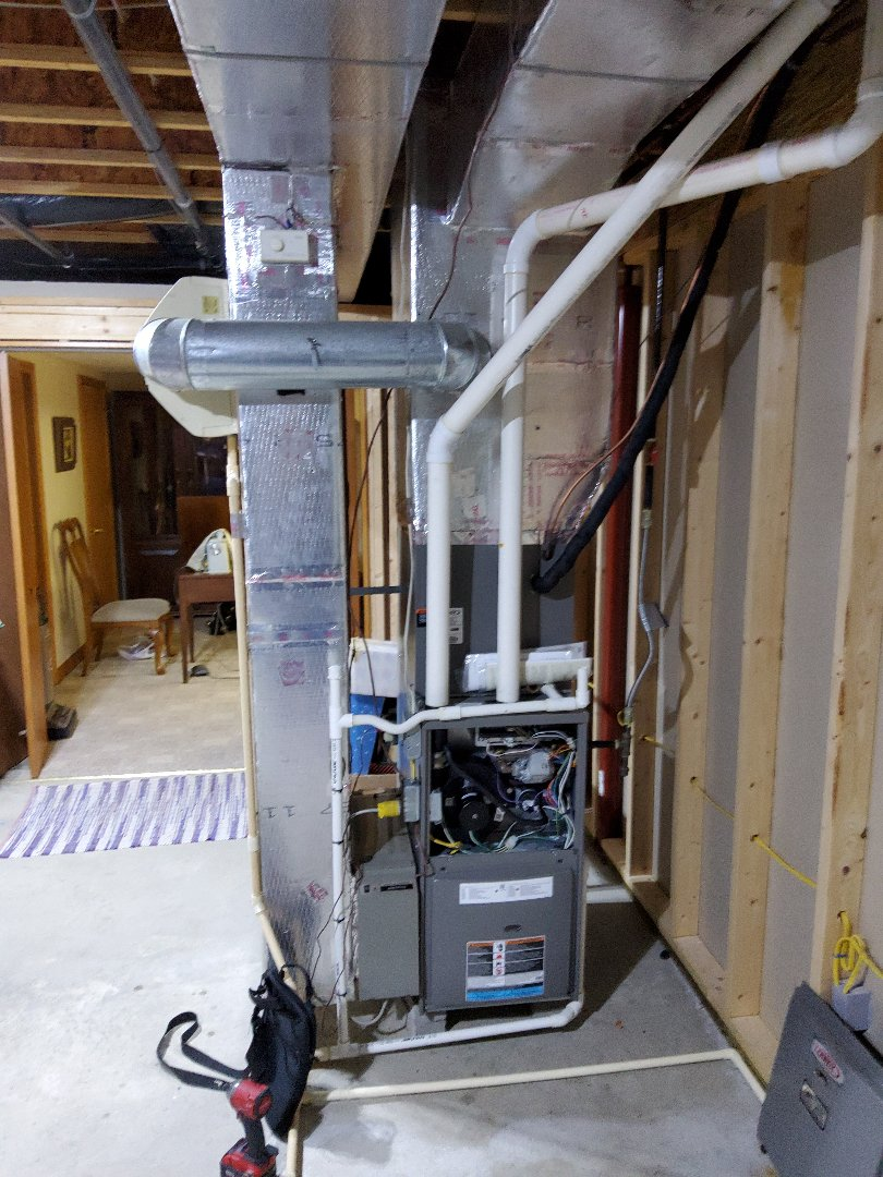 DuBois, PA - Clean and service lennox furnace. Humidifier supply was clogged.  I turned in and reset and is now working.  Statics where low so I turned them up one. This unit looks amazing.  Complete