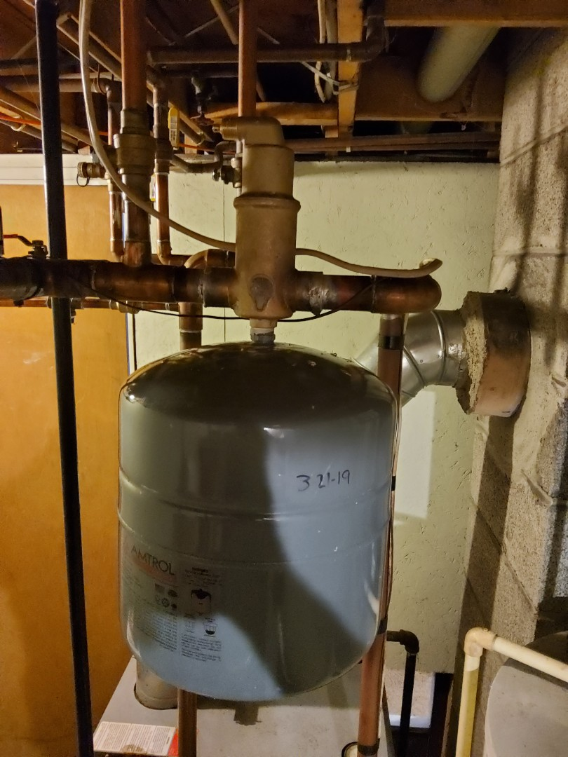 DuBois, PA - Installed spirovent on boiler system to help remove air from system