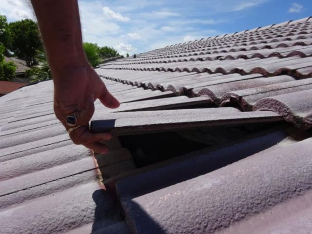 Davie, FL - In this claim the homeowner sustained damage from Hurricane Irma. The damage resulted in loose and lifting roof tiles. The insurance carrier agreed with the damage and afforded coverage for a new roof.