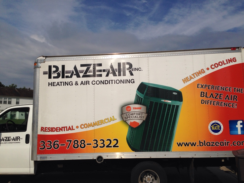 Jamestown, NC - Installing a new air-conditioning system