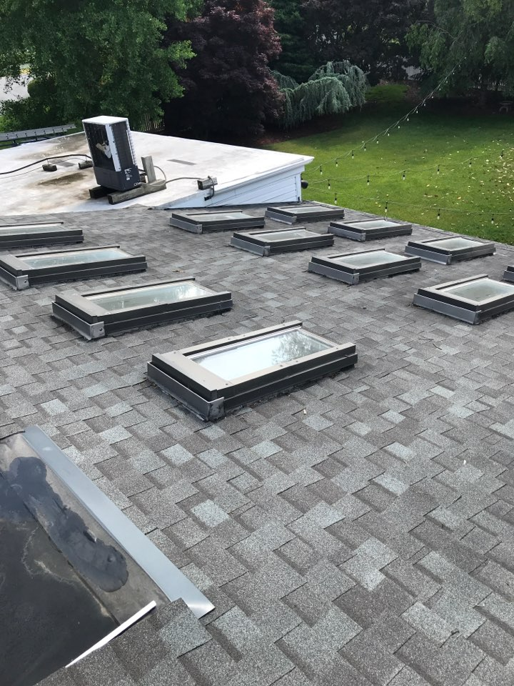 Harrisonburg, VA - Skylights are leaking and need replaced