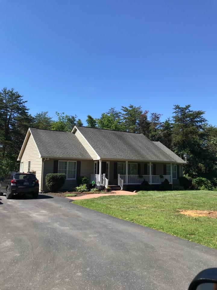 Staunton, VA - Shingle will be replaced with GAF shingles