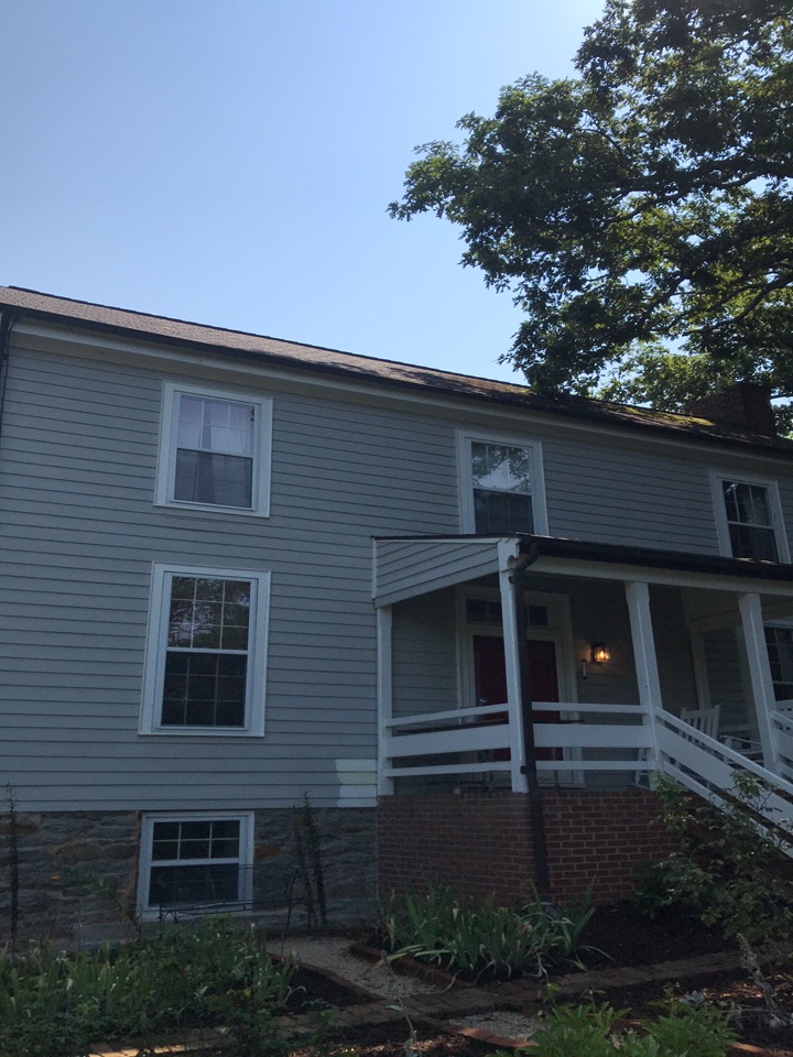 Faber, VA - Replace shingle roof with standing seam metal