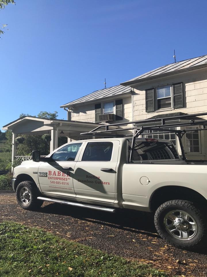 Staunton, VA - Metal roof in need of replacement