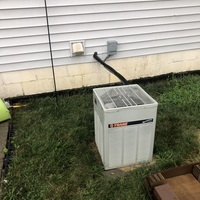 Sunbury, OH - Installed Carrier Carrier 80% 70,000 BTU Gas Furnace 	 Carrier 13 SEER 2 Ton Air Conditioner & Carrier Case Coil 2.0 TON