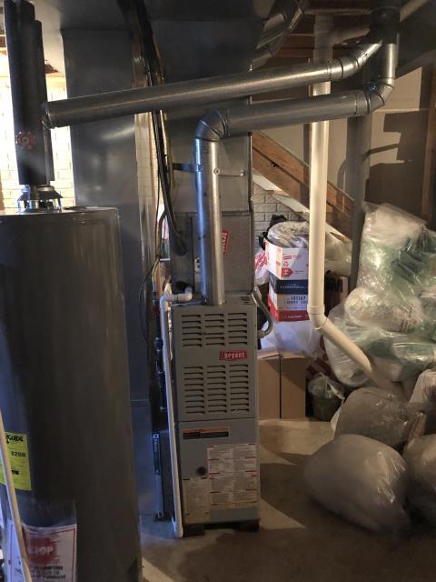 Pataskala, OH - Seasonal maintenance on Bryant furnace. All checks are good.