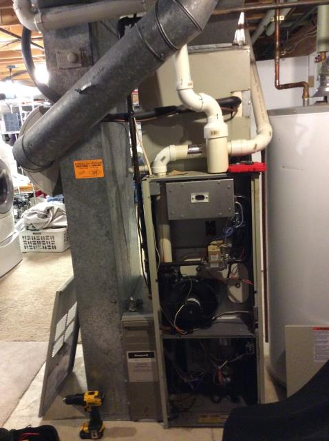 Pickerington, OH - Replaced thermostat on Comfortmaker furnace. All is working as it should.