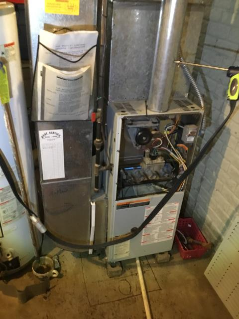 Groveport, OH - The Bryant Furnace was turned off due to water getting in it. Wants furnace checked to make sure it's safe before turning on