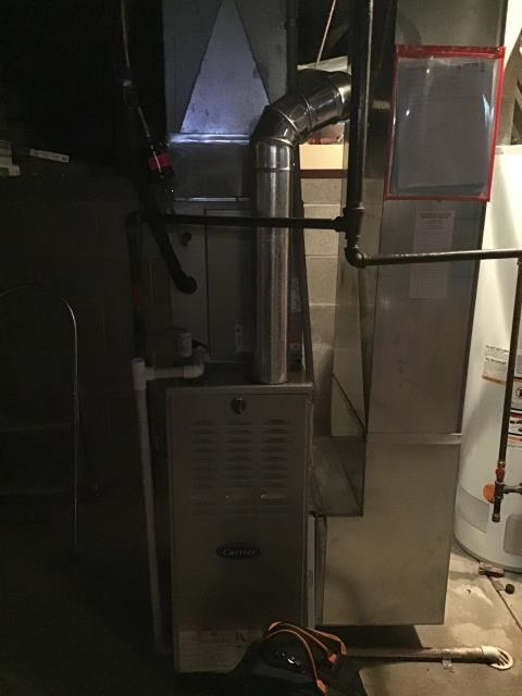Groveport, OH - Wearing mask and gloves and keep activity in the home to a minimum, I Performed Furnace tune-up on a 2018 Carrier system. System is now running a peak performance.