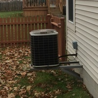 Reynoldsburg, OH - Following COVID-19 Protocol, wearing mask and gloves and keep activity in the home to a minimum, I Performed A/C tune-up on a 2000 Bryant Air conditioner . System is now running a peak performance
