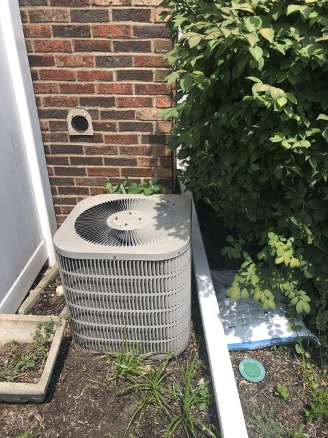 Dublin, OH - Following COVID-19 Protocol, wearing mask and gloves and keeping activity in the home to a minimum, I Performed A/C tune-up on a 2019 Carrier Air Conditioner . System is now running a peak performance.