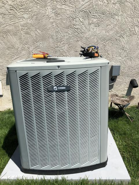 Delaware, OH - Performing our Five Star Tune-Up & Safety Check on a 2001 Trane