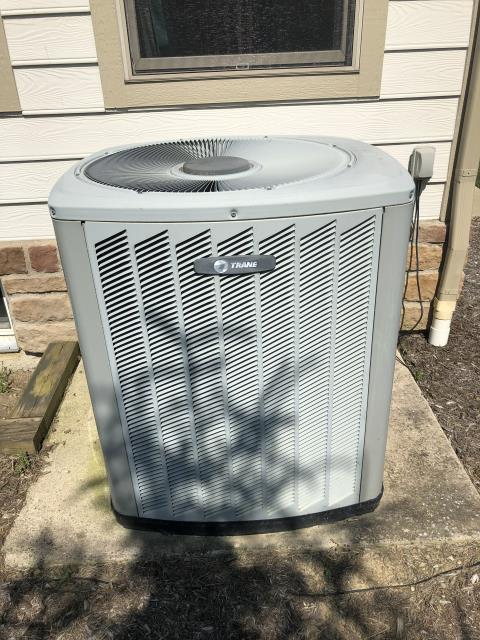 Galena, OH - I Performing our Five Star Tune-Up & Safety Check on a Trane Air Conditioner