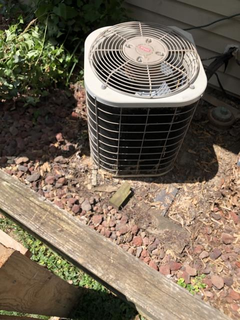 Hilliard, OH - I installed a new Carrier 13 SEER 2 Ton Air Conditioner Uninstall/Reinstall a Downflow Furnace on an A/C-only Install