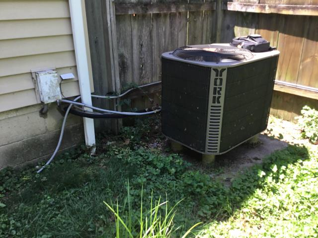 Columbus, OH -  Replaced start capacitor cycled system on turned on normally. the 2007 York System needs about a pound of refrigerant for it to be optimal.
