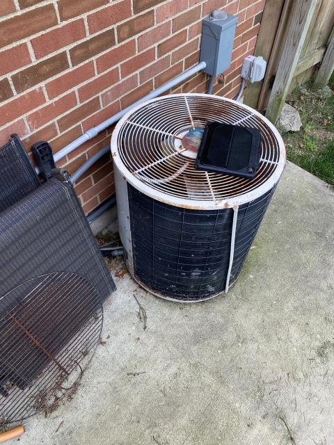 Columbus, OH - I installed a new Carrier 80% 45,000 BTU Gas Furnace & Carrier 13 SEER 2 Ton Air Conditioner