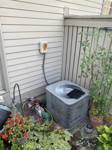 Pickerington, OH - customer stated ac not working.  I  furnace door not on all the way which cause the Furnace to go into safety mode and  not to come on.