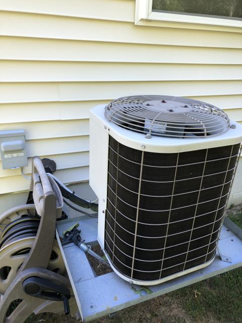 New Albany, OH - I provided an estimate for a new Carrier 96% Two-Stage 60,000 BTU Gas Furnace and a new Carrier 16 SEER 2.5 Ton Air Conditioner