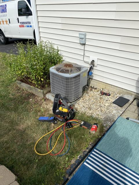 Dublin, OH - I Replaced the  Compressor-Motor Surge Capacitor on a 2012 Carrier