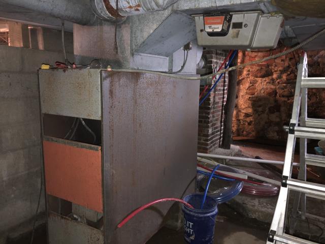 Pataskala, OH - I provided an estimate for  a new Propane Furnace & a new AC unit.
