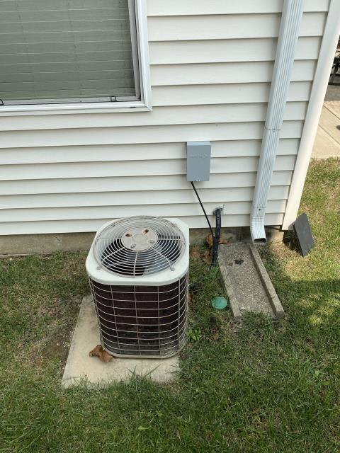 New Albany, OH - I provided an estimate for a new Carrier 96% Two-Stage 80,000 BTU Gas Furnace and Carrier 16 SEER 2.5 Ton Air Conditioner
