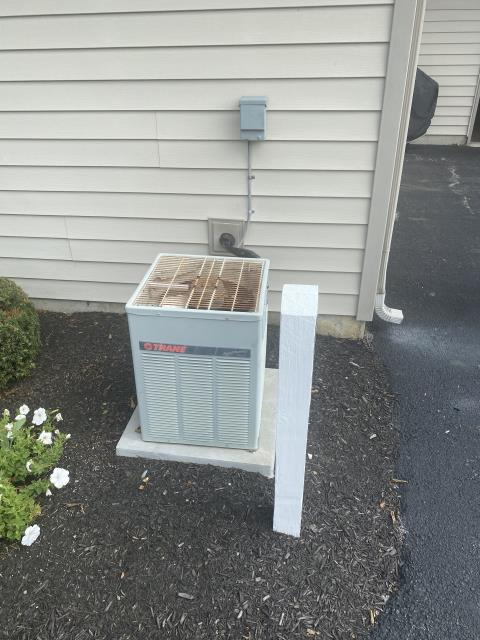 """Groveport, OH - I provided an estimate for a new Carrier """"Infinity Series"""" 80% 2 Stage Variable Speed 70,000 BTU Gas Furnace and a new Carrier 16 SEER 2.5 Ton Air Conditioner"""