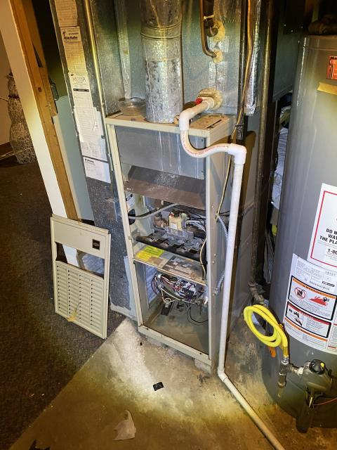 Columbus, OH - I provided an estimate for a new Carrier 96% Two-Stage 60,000 BTU Gas Furnace and a new Carrier up to 17 SEER 2 STAGE 3 Ton Air Conditioner