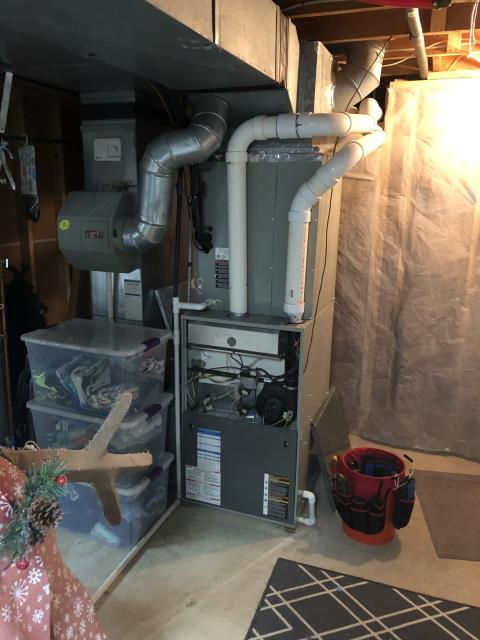 Dublin, OH - found hp compressor not operating, reason unsure per its is dark and raining. customer new hp had problem per no cooling the other day but they want to wait to mess with it per time of year. I  did explain since they have natural gas it makes no since to run the hp for heat per cost vs cost. I  wired system for gas heat only per customer permission and took hp out of low voltage series all together. customer will have to have hp looked at before cooling season
