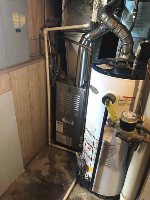 Hilliard, OH - I installed a new Five Star 80% 45,000 BTU Gas Furnace