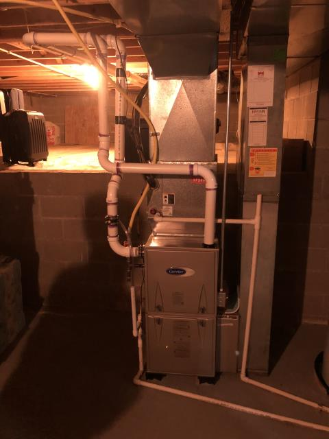 Hilliard, OH - I installed a Carrier 96% Two-Stage 60,000 BTU Gas Furnace