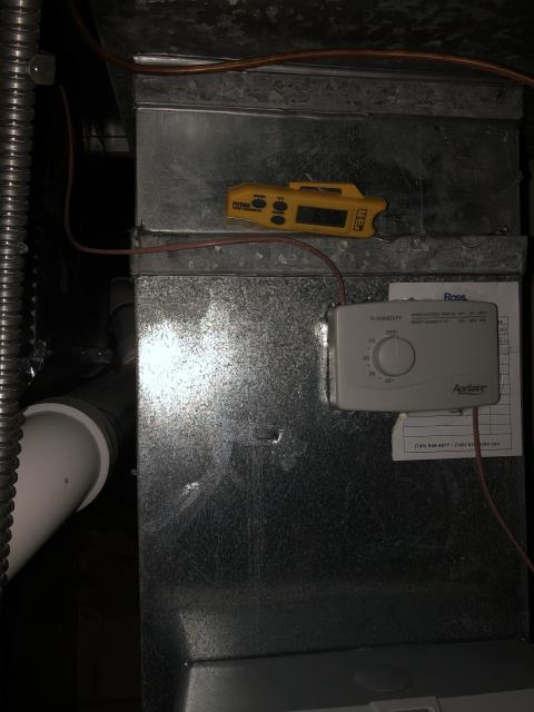 Lewis Center, OH - I installed a Carrier 96% Two-Stage 100,000 BTU Gas Furnace & Carrier up to 17 SEER 2 STAGE 4 Ton Air Conditioner
