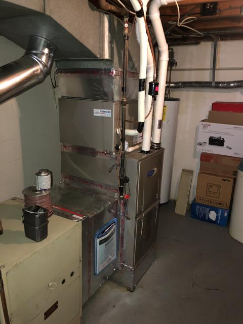 Worthington, OH - I replaced the blower motor. I cycled the system to ensure everything is working properly. System is operational upon departure.