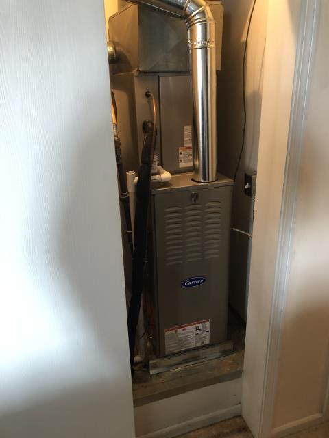 """Canal Winchester, OH - I installed a Five Star 80% 45,000 BTU Gas Furnace 3T 14"""" and a Five Star 13 SEER 2 Ton Air Conditioner. I cycled the system to ensure functionality. System is operational upon departure."""