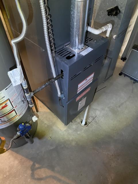 Pickerington, OH - I replaced the pressure switch. I cycled the system to ensure functionality. System is operational upon departure.