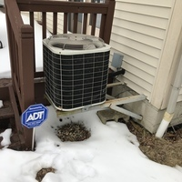 Powell, OH - Upon arrival, I found I was unable to replace the blower motor due to the condensate trap being glued in place and was in the way. I informed the customer we would have to uninstall the condensate trap and install a new one along with the new blower motor. Customer understands. System is not operational upon departure.