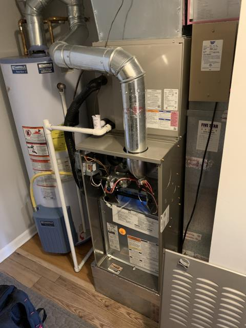 Powell, OH - I performed a tune up on a Carrier gas furnace. Everything checked out within specs. System is operational upon departure.