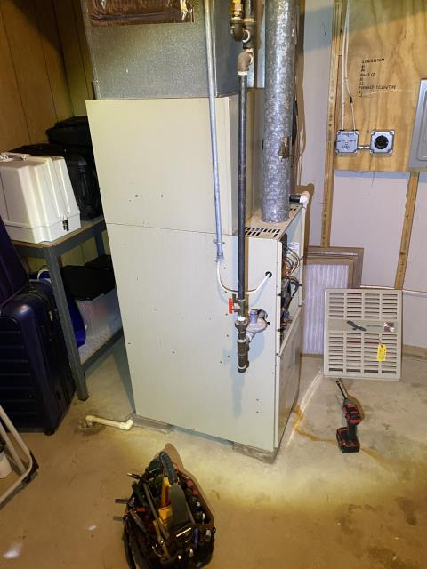 Johnstown, OH - Upon inspection, I found the customer's furnace was not the source of the loud noise they were hearing. I performed a combustion analysis on the unit and cleaned the flame sensor. System is operational upon departure.