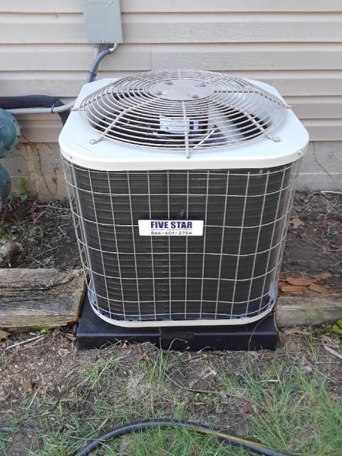 "Powell, OH - I installed a Five Star 80% 45,000 BTU Gas Furnace 3T 14"", and a Five Star 13 SEER 2 Ton Air Conditioner.  Both systems were fully operational upon my departure."