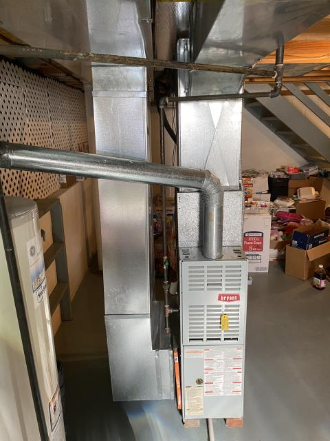 """Reynoldsburg, OH - I completed install of Carrier """"Infinity Series"""" 96% Variable Speed Two-Stage 60,000 BTU Gas Furnace. Carrier """"Infinity Series"""" 19 SEER Variable-Speed 3 Ton Air Conditioner. Installed and full operational upon departure."""