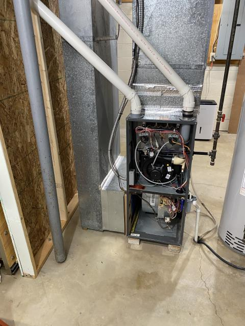 Reynoldsburg, OH - I completed A Full Install Carrier 96% Two-Stage 40,000 BTU Gas Furnace.**COL GAS** Carrier up to 17 SEER 2 STAGE 2 Ton Air Conditioner. System operational upon departure.