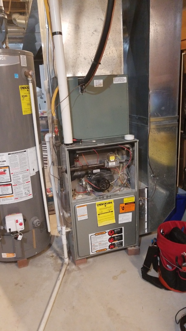Johnstown, OH - No heat call on a Rheem 90% furnace bad pressure switches
