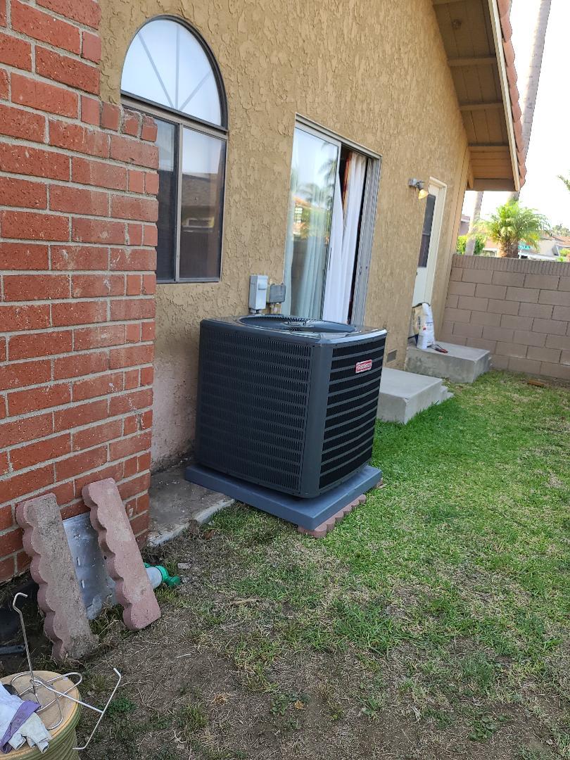 Carson AC install