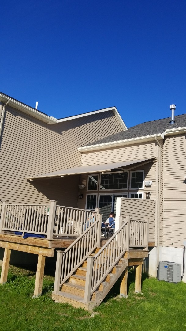 Fayetteville, NY - Awning in Fayetteville New York