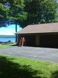 Rome, NY - A lake house should be a retreat not a place to work on the weekends. Get Gutter Helmet and eliminate one of your dirty choirs.