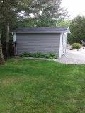 Cazenovia, NY - We even put gutters on sheds