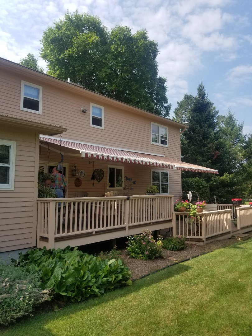 Manlius, NY - Awning together in manlius