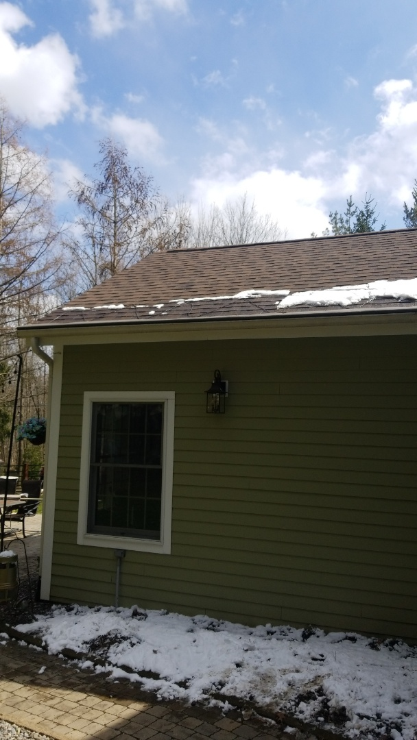 Cazenovia, NY - Installing gutter helmet so you never have to clean your gutters again