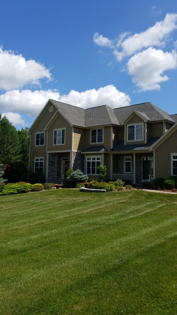 Manlius, NY - Gutters and downspouts