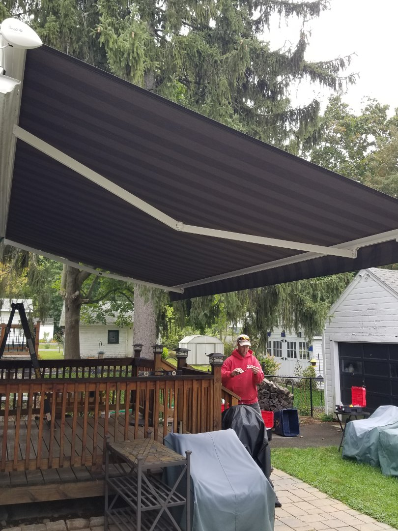 Syracuse, NY - Patio awning