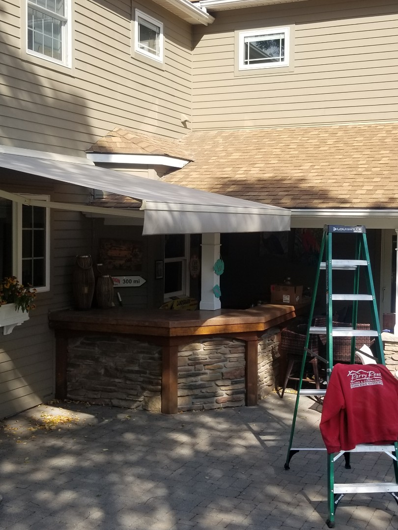 Syracuse, NY - Fabric replacement and awning repair